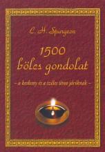 1500 BÖLCS GONDOLAT - A KESKENY ÉS A SZÉLES ÚTON JÁRÓKNAK - Ekönyv - SPURGEON, C. H.