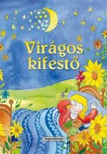 Virágos kifestő - Ebook - NAPRAFORGÓ KÖNYVKIADÓ