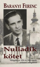 NULLADIK KÖTET - Ekönyv - BARANYI FERENC