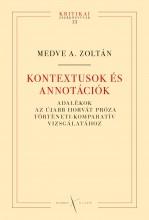 KONTEXTUSOK ÉS ANNOTÁCIÓK - Ekönyv - MEDVE A. ZOLTÁN