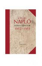 A TELJES NAPLÓ 1952-53 - Ebook - MÁRAI SÁNDOR