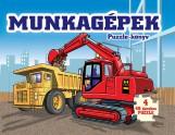 MUNKAGÉPEK - PUZZLE-KÖNYV - Ekönyv - MANÓ KÖNYVEK