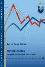 METSZÉSPONTOK NONPROFIT TANULMÁNYOK 2004-2006 - Ekönyv - BARTAL ANNA MÁRIA