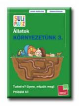 SULI PLUSZ - KÖRNYEZETÜNK 3. - ÁLLATOK - Ekönyv - TESSLOFF ÉS BABILON KIADÓI KFT.