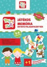 MINI SULI JÁTÉKOS MEMÓRIA OKTATÓ FELADATKÁRTYÁK - Ekönyv - GREEN RABBIT KIADÓ