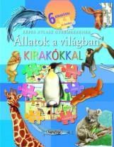 Állatok a világban kirakókkal -  Képes atlasz gyermekeknek - Ekönyv - Napraforgó Kiadó