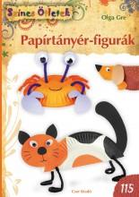 PAPÍRTÁNYÉR-FIGURÁK - SZÍNES ÖTLETEK 115. - Ekönyv - GRE, OLGA
