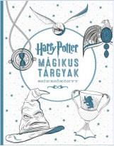 HARRY POTTER - MÁGIKUS TÁRGYAK SZÍNEZŐKÖNYV - Ekönyv - GABO / TALENTUM