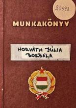 MUNKAKÖNYV - Ekönyv - HORVÁTH JÚLIA BORBÁLA