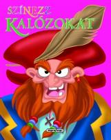 Színezz kalózokat! - Rózsaszín - Ekönyv - Napraforgó Kiadó