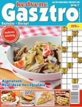 KEDVENC GASZTRO - REJTVÉNY + RECEPT 2016/7. - Ekönyv - CSOSCH BT.