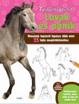 LOVAK ÉS PÓNIK - TANULJUNK RAJZOLNI! - Ekönyv - GABO / TALENTUM