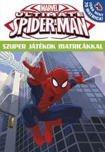 ULTIMATE SPIDER-MAN - SZUPER JÁTÉKOK MATRICÁKKAL 16 - Ekönyv - -