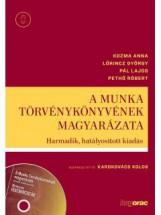 A MUNKA TÖRVÉNYKÖNYVÉNEK MAGYARÁZATA - 3. HATÁLYOSÍTOTT KIAD. (CD-MELLÉKLETTEL) - Ekönyv - KOZMA ANNA; LŐRINCZ GYÖRGY; PÁL LAJOS; P