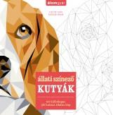 Állati színező - KUTYÁK - Ekönyv - Cetin Can Karaduman
