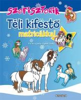 SZOFISZTORIK - TÉLI KIFESTŐ MATRICÁKKAL - Ekönyv - GYÜKÉR ZSÓFIA
