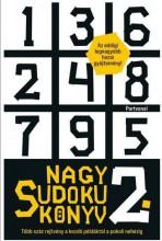 NAGY SUDOKU KÖNYV 2. - Ekönyv - PARTVONAL KIADÓ