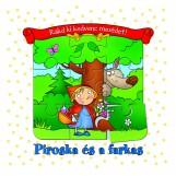 PIROSKA ÉS A FARKAS - RAKD KI KEDVENC MESÉDET! - Ekönyv - ANNA PODGÓRSKA
