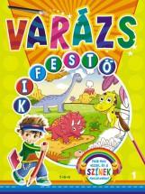 VARÁZS KIFESTŐ 1. - DÍNÓK - Ekönyv - TKK
