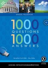 1000 QUESTIONS 1000 ANSWERS - ANGOL FELSŐFOK 5.KIADÁS - Ekönyv - LX-0126-5 KÉSZ ZOLTÁN, NÉMETHNÉ HOCK I.