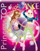 PRINCESS TOP - JUST DANCE (PURPLE) - Ekönyv - NAPRAFORGÓ KÖNYVKIADÓ