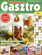 KEDVENC GASZTRO - REJTVÉNY + RECEPT 2016/8. - Ekönyv - CSOSCH BT.