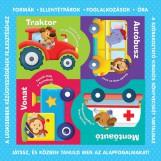 PUZZLE-KÖNYVEK - KÖZLEKEDÉSI ESZKÖZÖK (4DB KÖNYV DOBOZBAN) - Ekönyv - TÜNDÉR KIADÓ / STUDIUM PLUSZ KIADÓ