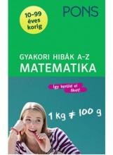 GYAKORI HIBÁK A-Z   - MATEMATIKA (PONS) - Ekönyv - KLETT KIADÓ