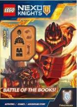 A KÖNYVEK CSATÁJA - LEGO NEXO KNIGHTS - AJÁNDÉK MINIFIGURÁVAL - Ekönyv - MÓRA KÖNYVKIADÓ