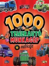 1000 TEHERAUTÓ ÉS MUNKAGÉP MATRICÁJA - PIROS - Ekönyv - NAPRAFORGÓ KÖNYVKIADÓ