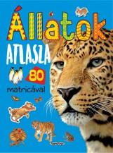 ÁLLATOK ATLASZA 80 MATRICÁVAL - ÚJ, KÉK - Ekönyv - NAPRAFORGÓ KÖNYVKIADÓ